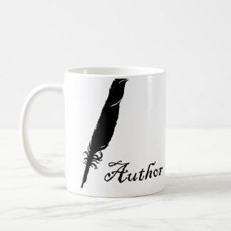 Autor und Spule Kaffeetasse