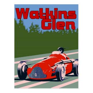 AutoRacer, Watkins Glen Postkarte
