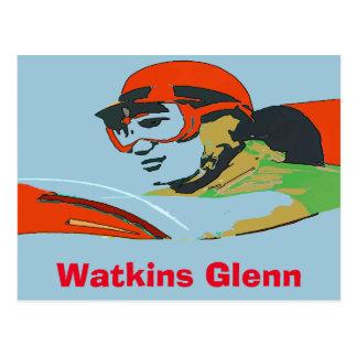 AutoRacer, Watkins Glenn Postkarte