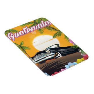 Autoreiseplakat Guatemalas Vintages Magnet