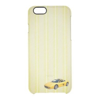 Autos 3 iPhone Fall 6/6S Durchsichtige iPhone 6/6S Hülle