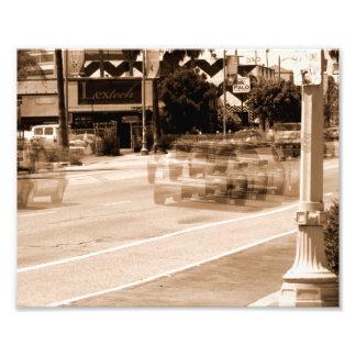 Autos auf der Straße Foto Drucke