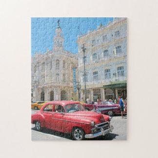 Autos in Kuba Puzzle