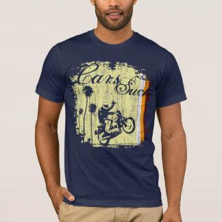 Autos sind zum Kotzen - Siebziger T-Shirt