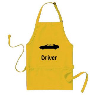 Autos und ihre Bediensteten Schürze