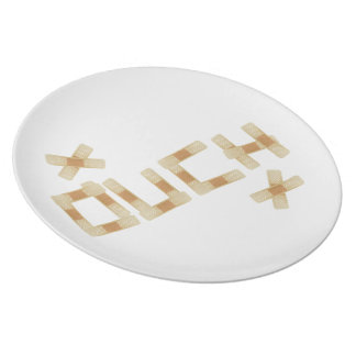 Autsch Platte Teller