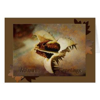 AutumnGreetings Grußkarte
