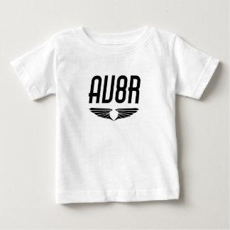 AV8R - Flieger u. Pilotflügel-Entwurf Baby T-shirt
