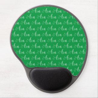 Ava - moderner Kalligraphie-Namen-Entwurf Gel Mousepad
