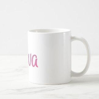 Ava stilvoller Cursive Kaffeetasse