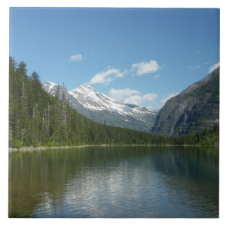 Avalanche See I im Glacier Nationalpark Keramikfliese