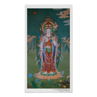Avalokiteshvara Plakat