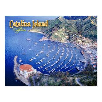 Avalon Bucht, Catalina-Insel, Kalifornien Postkarte