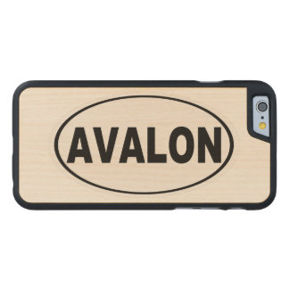 Avalon New-Jersey Carved® iPhone 6 Hülle Ahorn