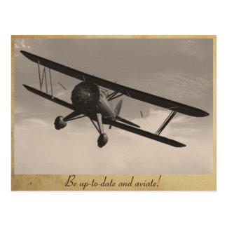 Aviate! Postkarte