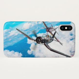 """Aviation Art Device Cass  """"F4U Corsair"""" iPhone X Hülle"""