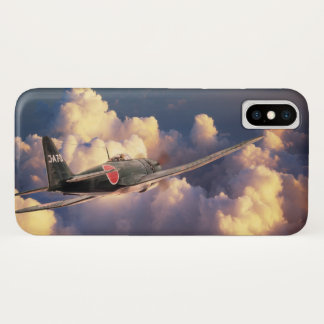 "Aviation Art Device Cass  ""Mitsubishi A7M Sam"" iPhone X Hülle"