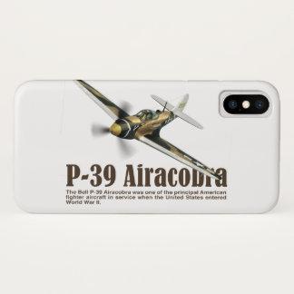 "Aviation Art Device Cass  ""P-39 Airacobra"" iPhone X Hülle"
