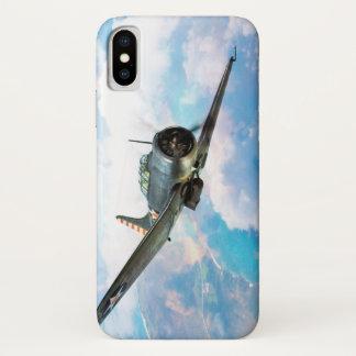 """Aviation Art Device Cass  """"SBD Dauntless"""" iPhone X Hülle"""