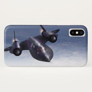 """Aviation Art Device Cass  """"SR-71 Blackbird"""" iPhone X Hülle"""