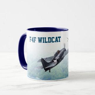"""Aviation Art Mug """"F4F Wildcat"""" Tasse"""
