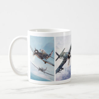 "Aviation Art Mug ""Fighter of World War II"" Tasse"
