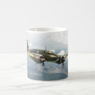 "Aviation Art mug ""Mitsubishi Ki-46 DINAH"" Tasse"