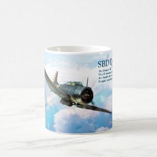 "Aviation Art Mug ""SBD Dauntless"" Kaffeetasse"