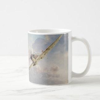 "Aviation art mug ""Spitfire"" Kaffeetasse"