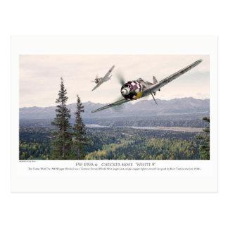 "Aviation Art Postcard ""Focke-Wulf Fw 190"" Postkarte"
