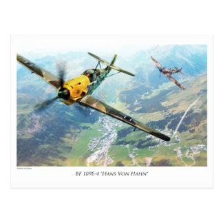 """Aviation Art Postcard """"Messerschmitt Bf109E"""" Postkarte"""