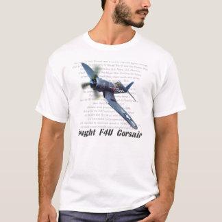 """Aviation art T-shirt """"F4U Corsair"""" T-Shirt"""