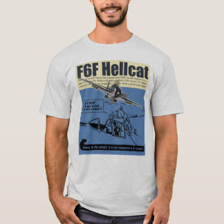 "Aviation Art T-shirt ""F6F Hellcat"""