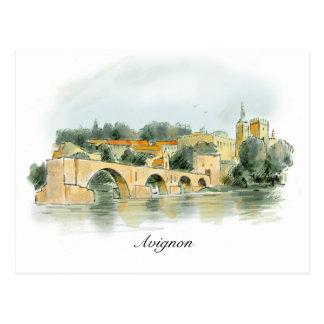 Avignon-Postkarte Postkarte