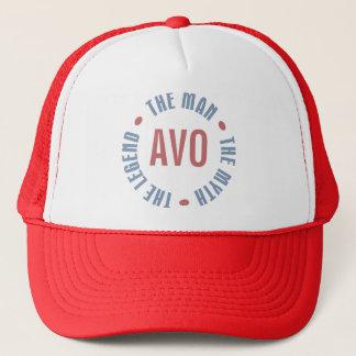 Avo Mann-Mythos-Legende kundengerecht Truckerkappe