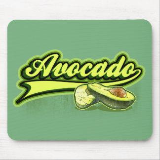 Avocado gelockt mauspads