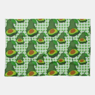 Avocado im Paradies Handtuch