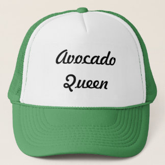 Avocado-Königin Truckerkappe