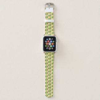 Avocado lustige zujubelnde grüne Grube Handstand Apple Watch Armband