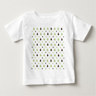 Avocado-Muster Baby T-shirt