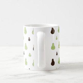 Avocado-Muster Kaffeetasse