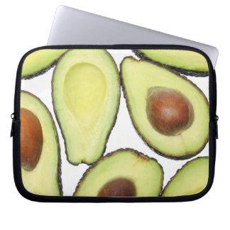 Avocado-Muster Laptop Sleeve