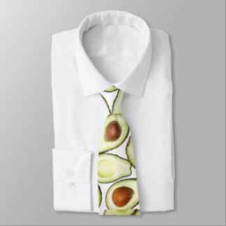 Avocado-Muster Personalisierte Krawatte