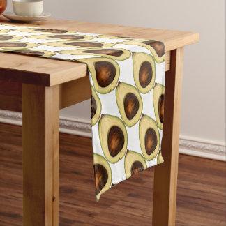 Avocado-Power Kurzer Tischläufer