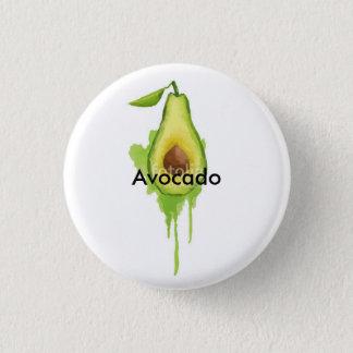 Avocado Runder Button 2,5 Cm