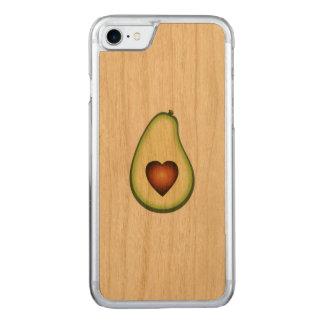 Avocado-Telefon-Kasten Carved iPhone 8/7 Hülle