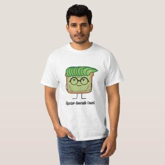 Avocado-Toast-Hipsterglas-Schmiererhaar T-Shirt