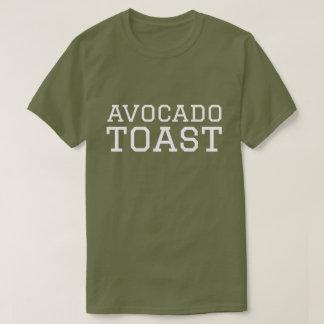 Avocado-Toast-Uni-Schriftart-Shirt T-Shirt