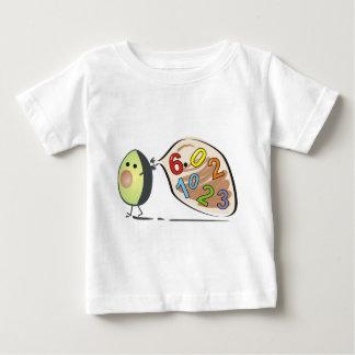 Avocadozahlen Baby T-shirt