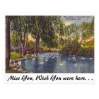 Avondale Park, Birmingham, AL Postkarte
